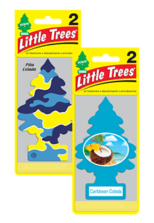 Little Tree Air Fresheners - 2 pack