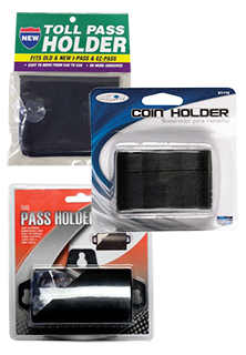 Toll Pass and Coin Holders