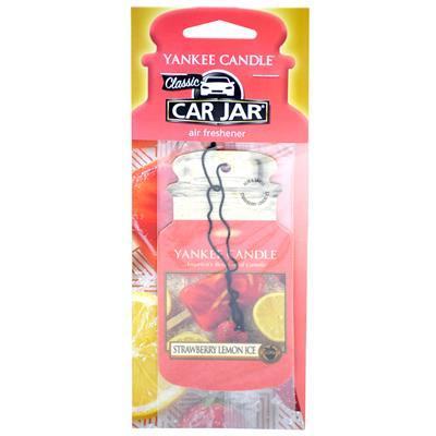 Yankee Candle Paper Jar Air Freshener - Strawberry Lemon Ice